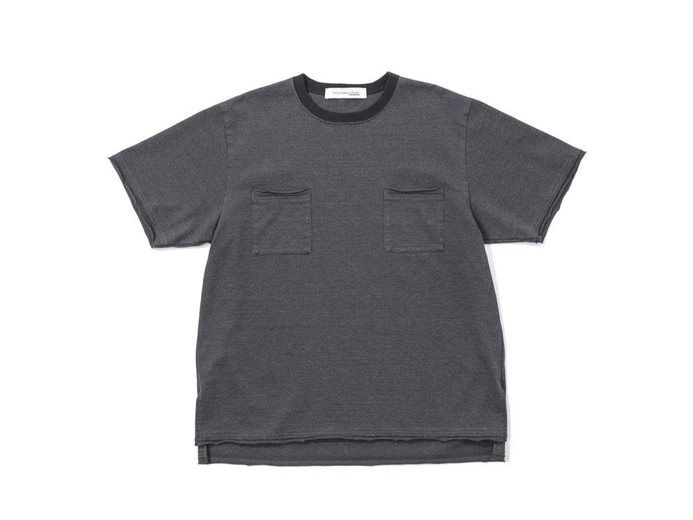 Snow Peak×TDS garment dye T-SHIRT L Black