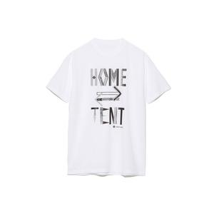 ホームテントプリントティーシャツ