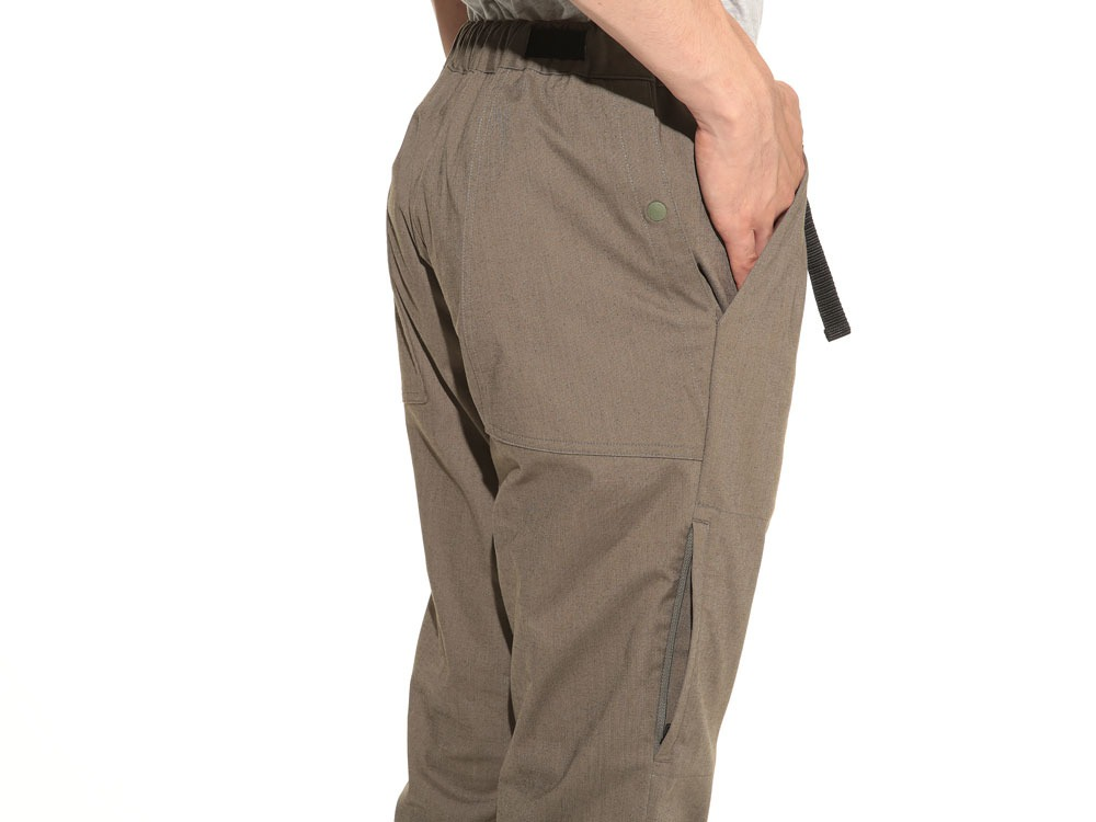 Power Stretch Cropped Pants L Olive4