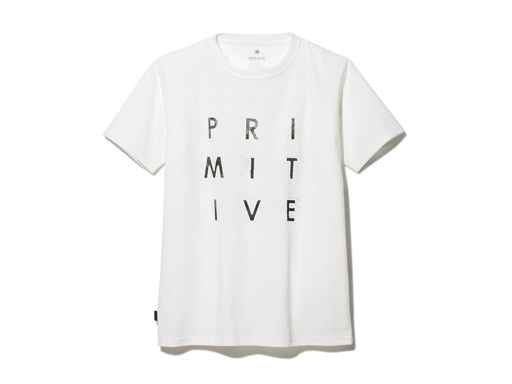Primitive Survival Tee S White