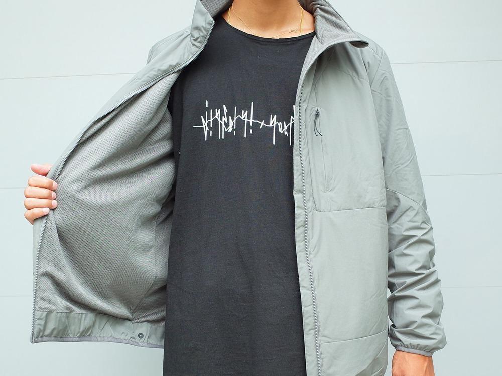 2レイヤー オクタジャケット M ブラック