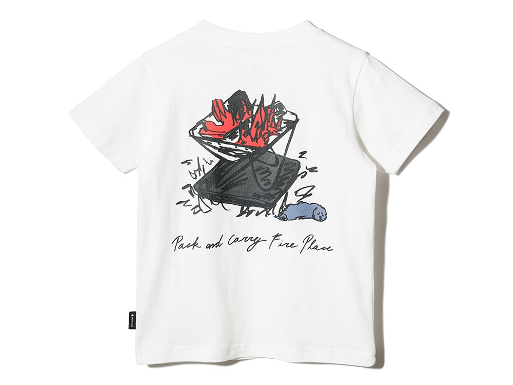 Kid's Printed T Pack&Carry Fireplace 1 BK