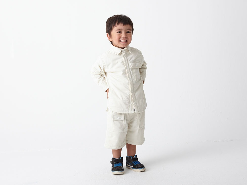 Kids Flexible Insulated Shirt 3 White4