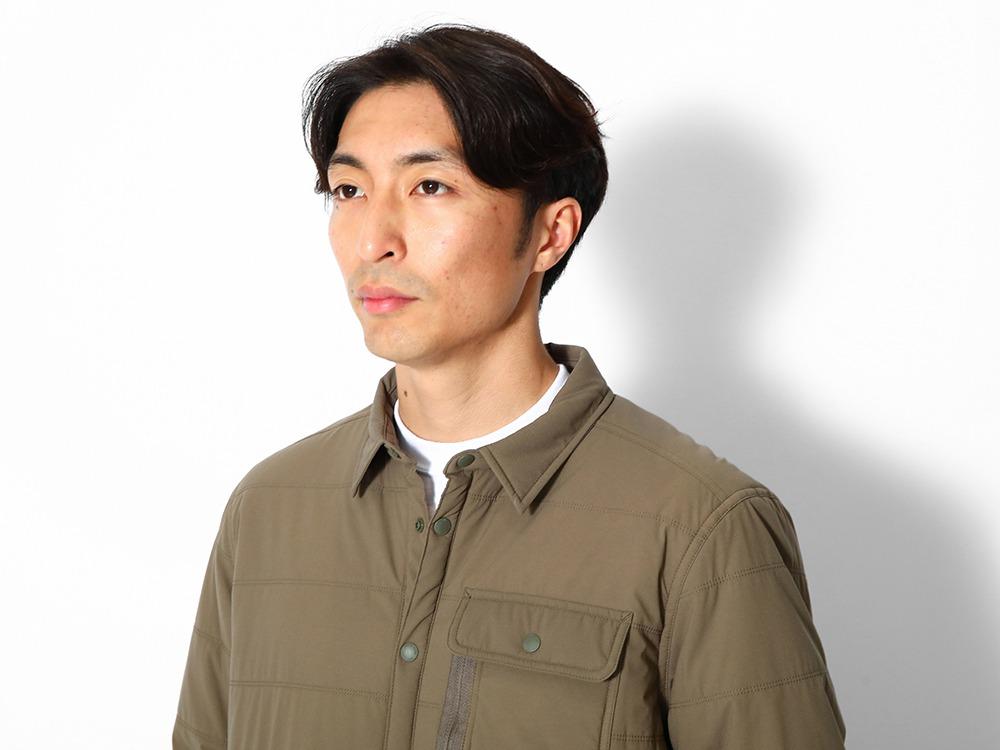 Flexible Insulated Shirt M Brown