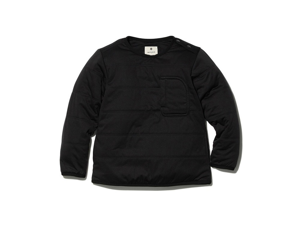 Kids Flexible Insulated Pullover 4 Black