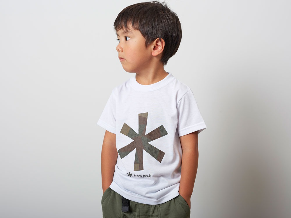 Kid'sQuickDryTshirt/RainCamo 1 Navy7
