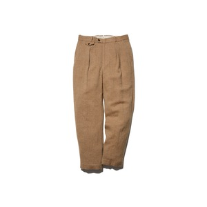 Wo/Li Herringbone Tweed Pants