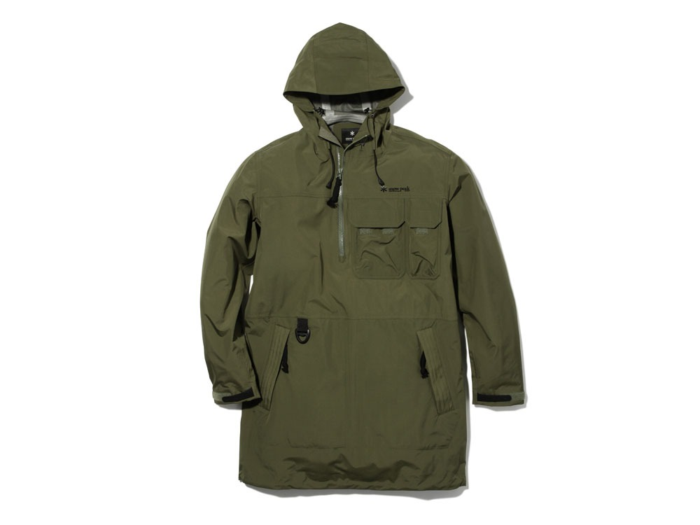 Wind&Water Resistant Anorak XL Olive0