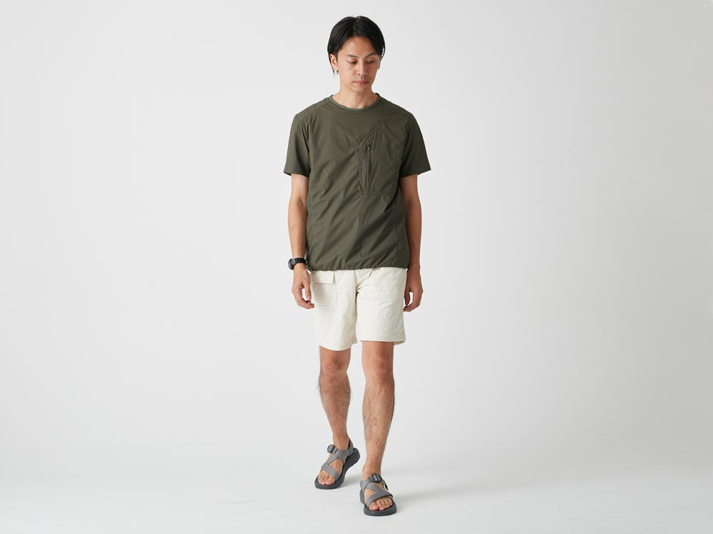 FlexibleInsulated Shorts 2 Grey2