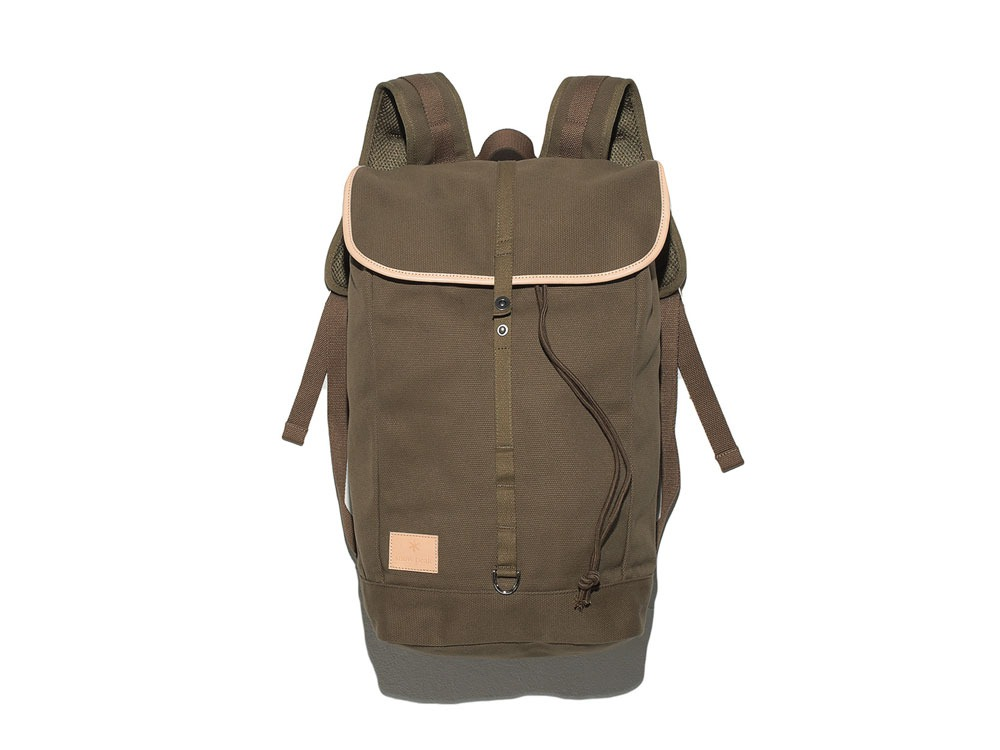Canvas Backpack Olive0