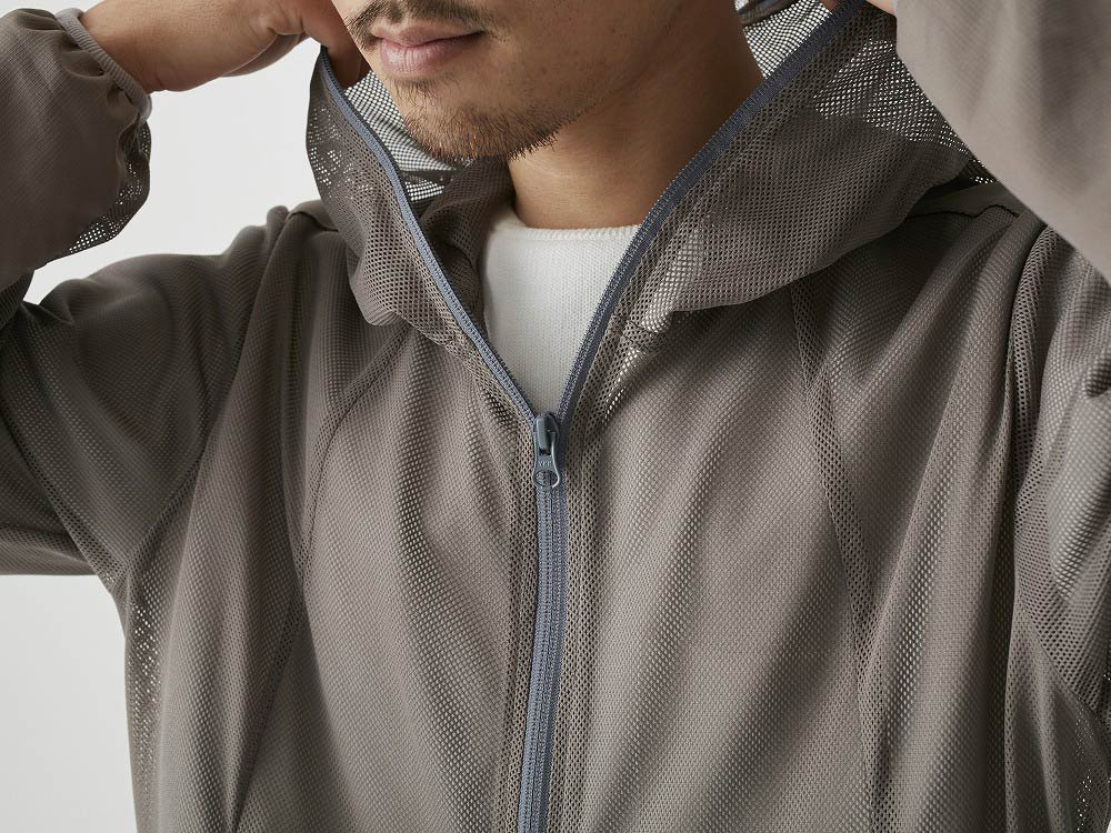 Insect Shield Parka S Grey4