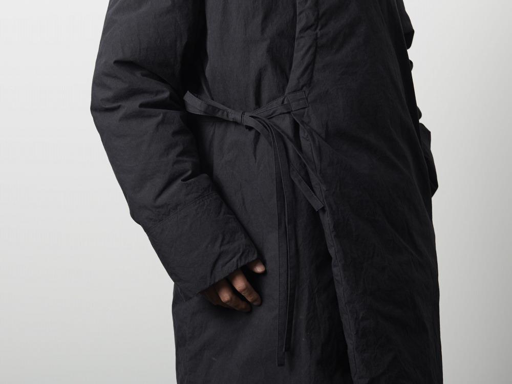 インディゴダウンモンゴリアコート 1 ブラック