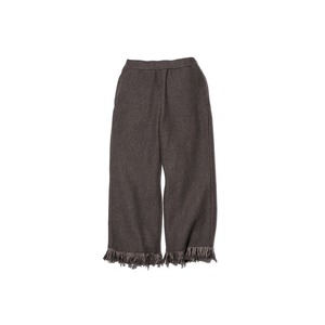 Fringe Knit Pants