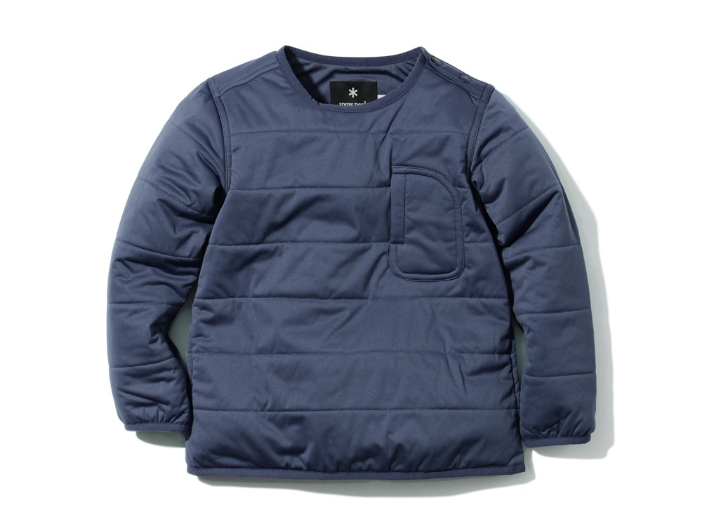 Kids Flexible Insulated Pullover 3 Navy0
