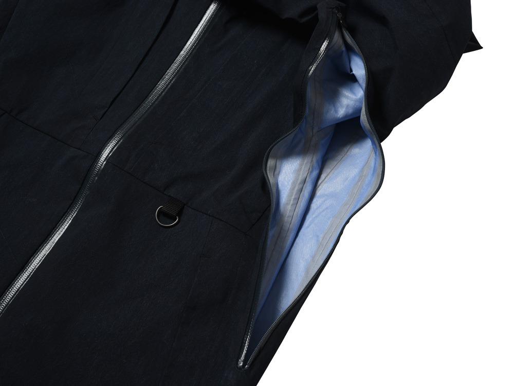 Indigo C/N 3L Rain Jacket M Indigo3