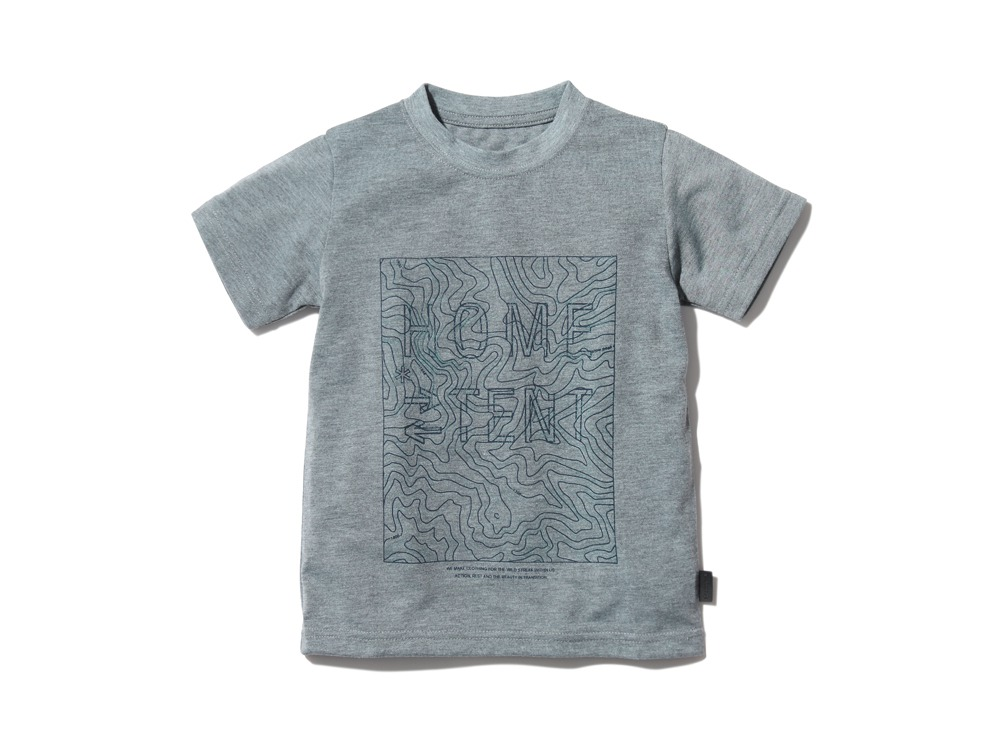 Kid'sQuickDryTshirt/Contour 2 M.grey0