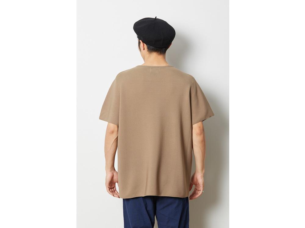 ホールガーメント Tシャツ 1 ブラック