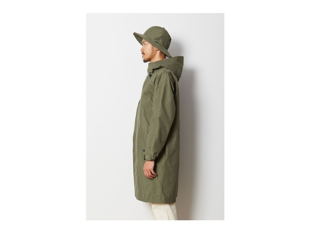 FR 3L Rain Coat 1 Brown