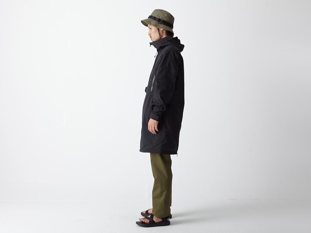 Indigo C/N Anorak Pullover 1 Black2