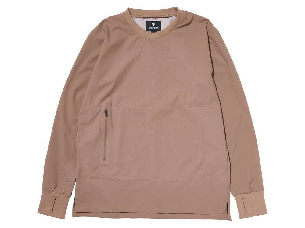 WR&Stretch Pullover S Beige0