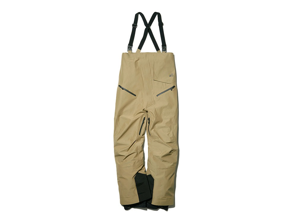 MM FR 3L Bib Pants L Beige