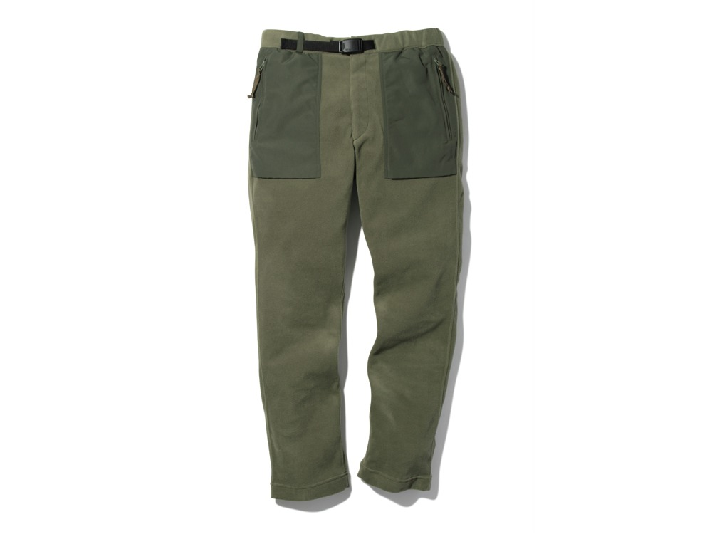 R/Pe Fleece Pants M Olive0