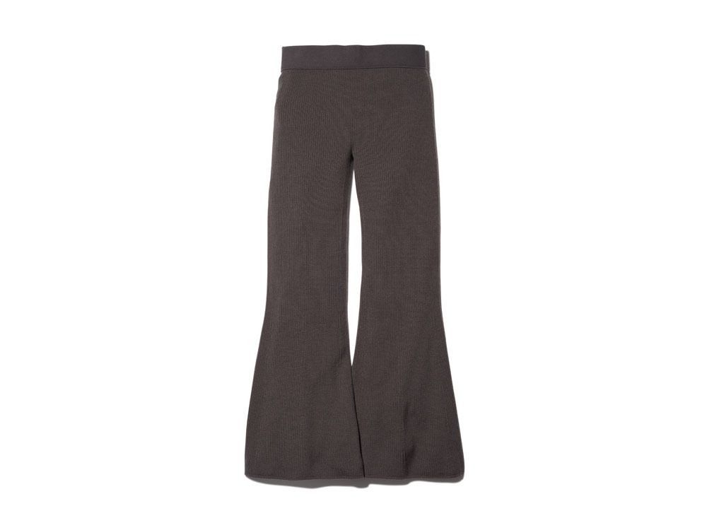OG Wool Knit Rib Tights 1 Brown