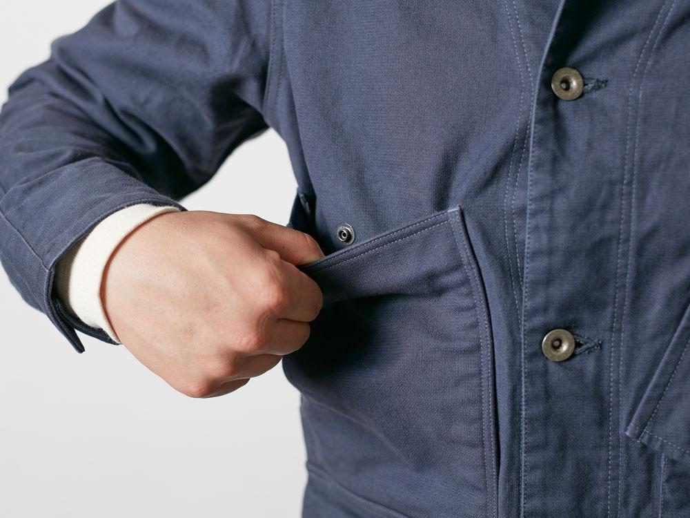 TAKIBI Coverall Jacket 1 Olive7
