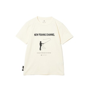SP×TONEDTROUT Fishing Tshirt L White