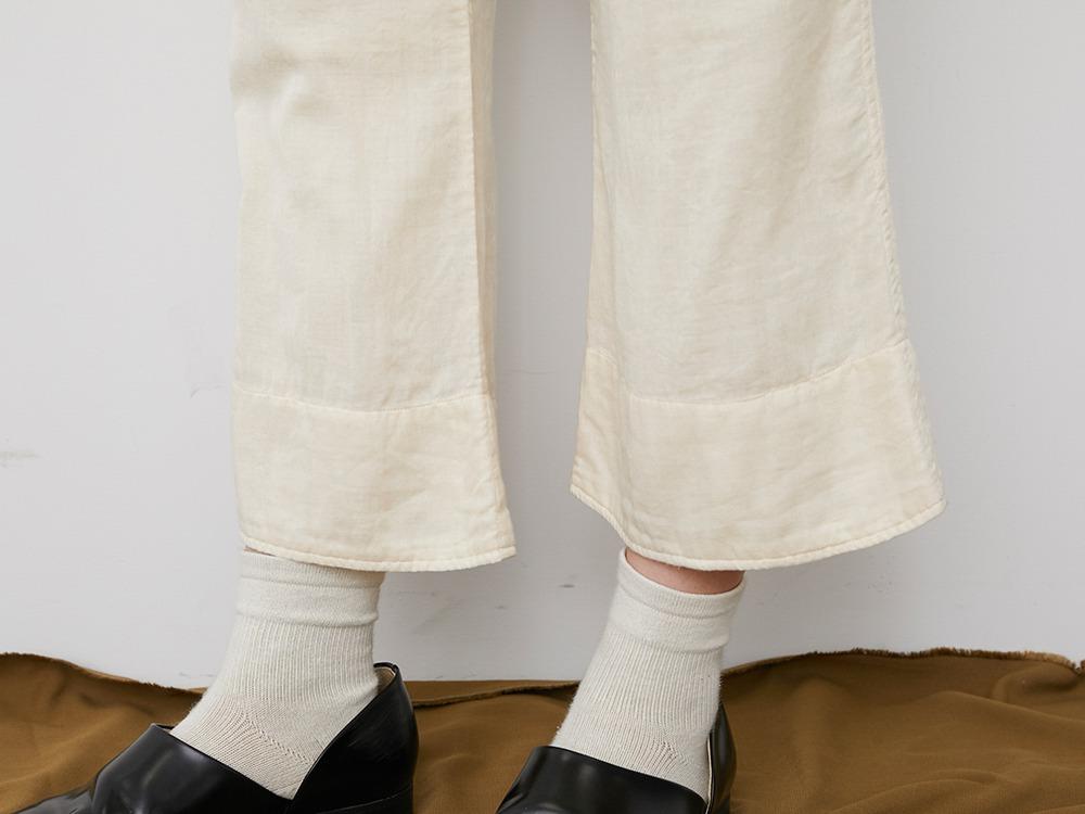 OG Double Gauze Pants 1 Ecru