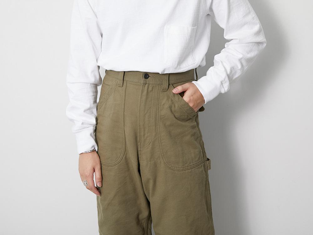TAKIBI Duck Pants 1 Olive