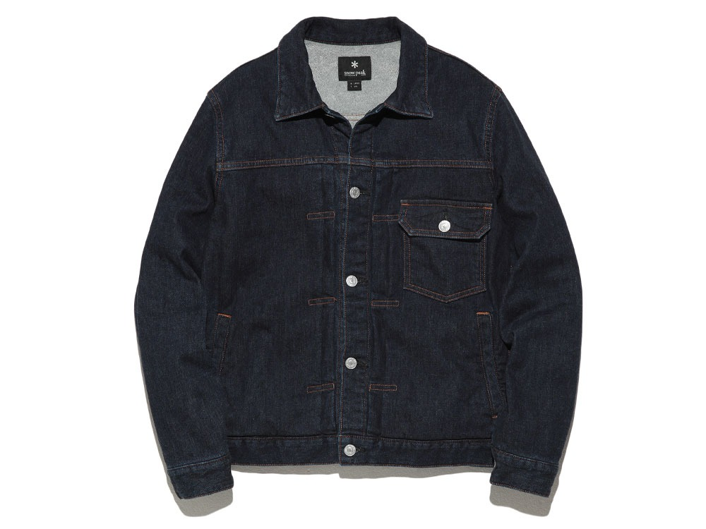 Pile Denim Jacket S Hard Wash0