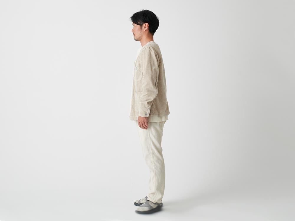Linen Corduroy Jacket L Black2