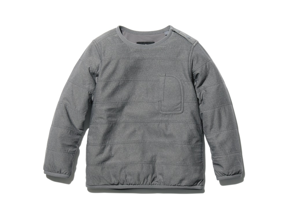 KidsFlexibleInsulatedPullover 4 M.Grey0