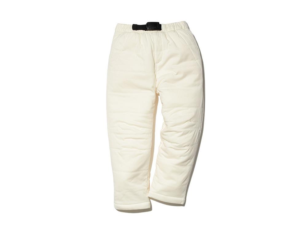 キッズフレキシブルインサレーション パンツ 2 ホワイト