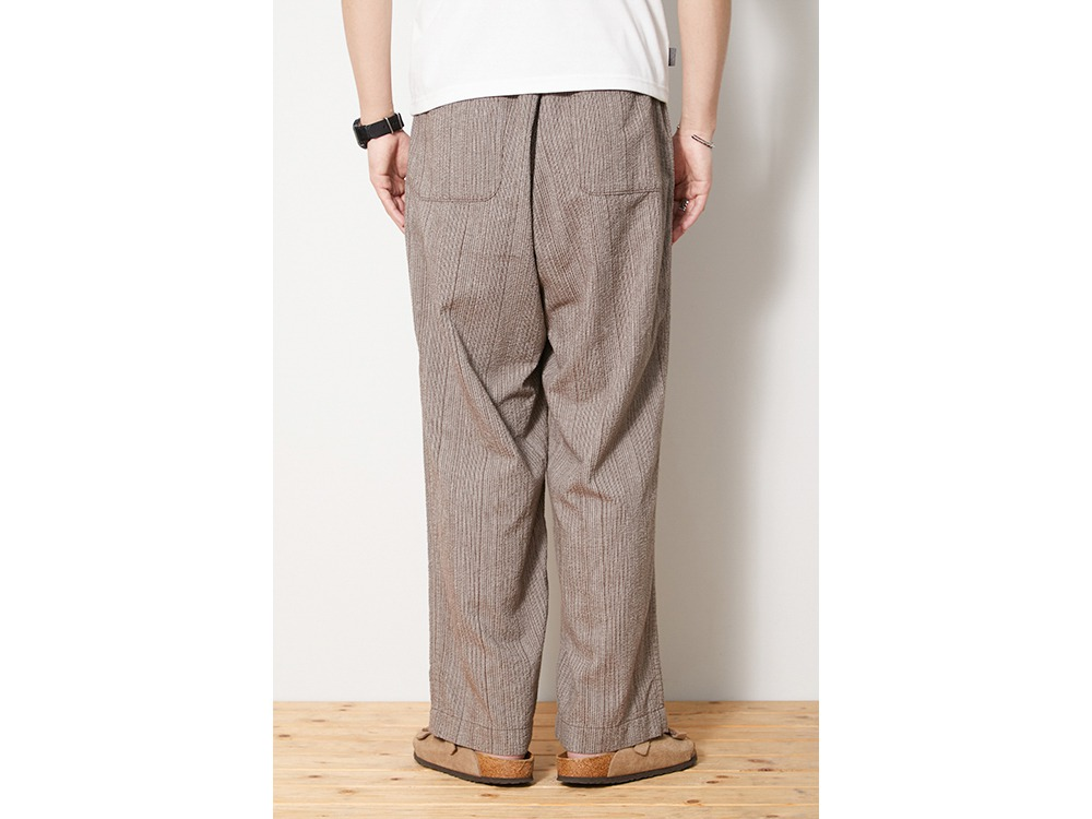 SHIJIRA Wide Pants S Brown