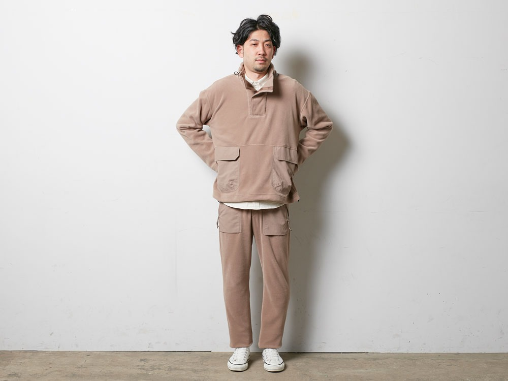 R/Pe Fleece Pullover XL Olive1