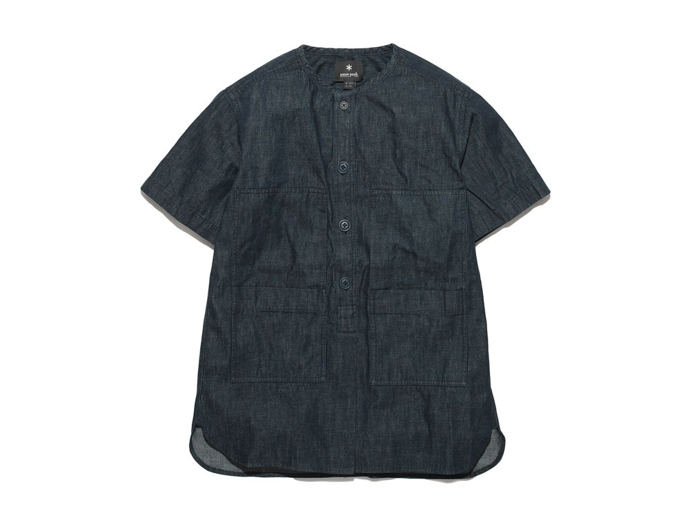 Dungaree Field S/Sleeve 2 Indigo0