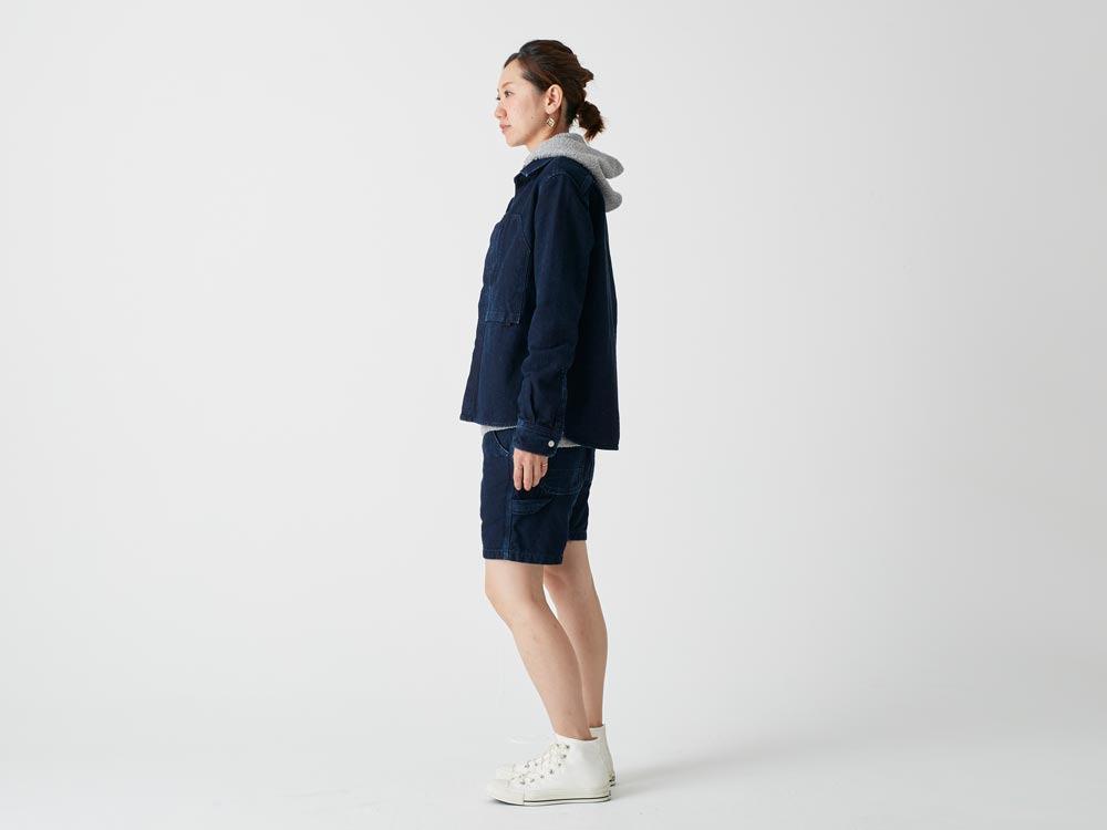 Okayama OX Shorts SIndigo3