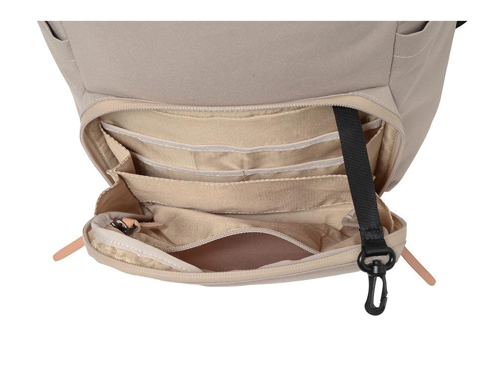 Travel back pack Ivory2
