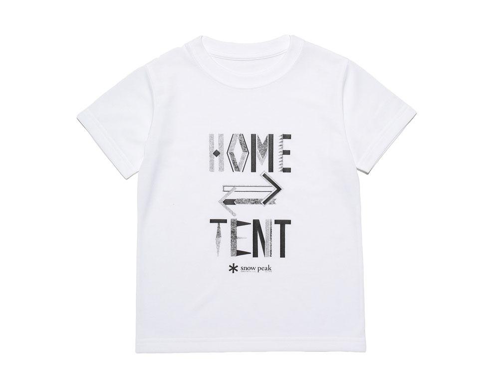 Kid's Printed Tshirt:HomeTent 4 White0
