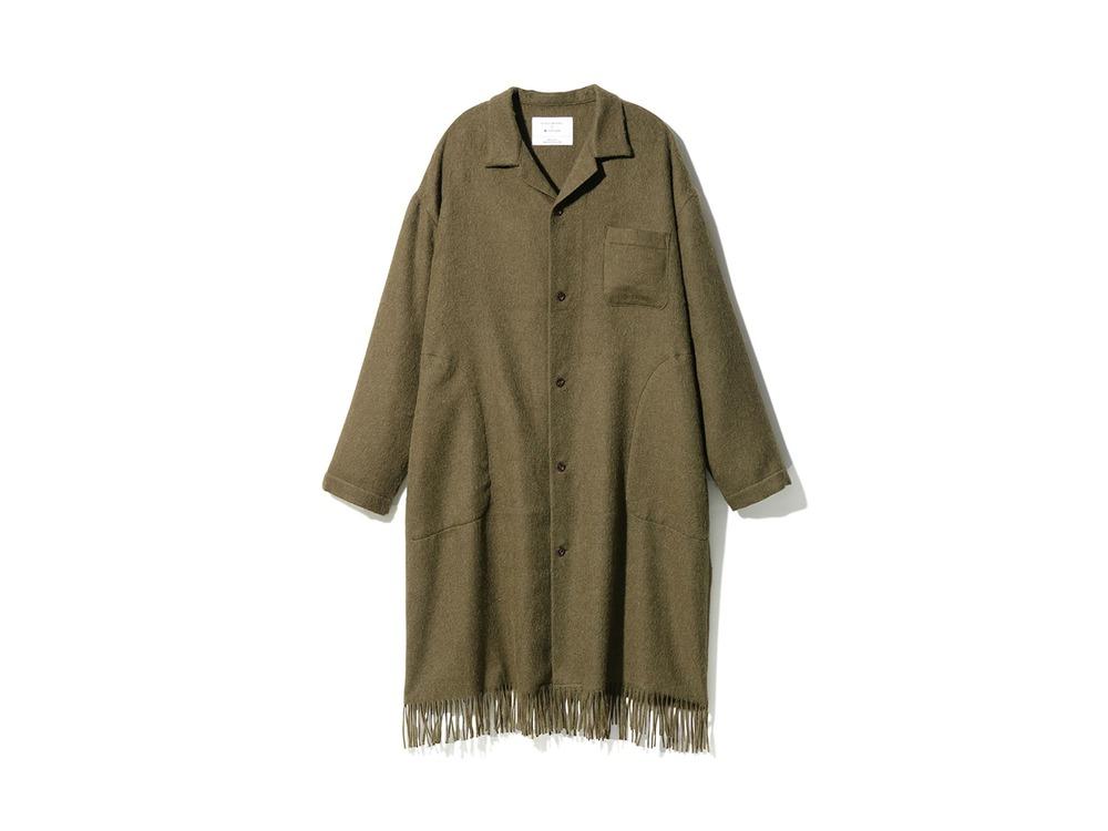 Fringe Coat M Khaki