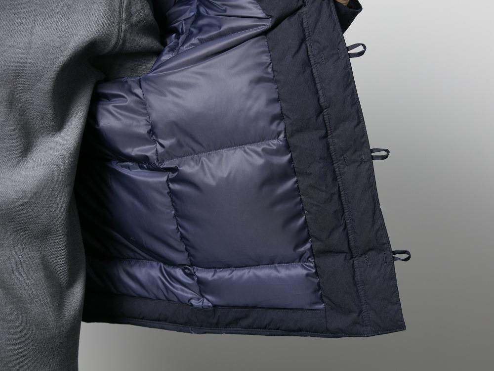 インディゴダウンチャイナジャケット 1 ブラック