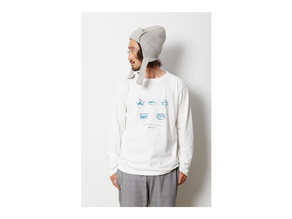 SP Tarp ロングスリーブ Tシャツ M White
