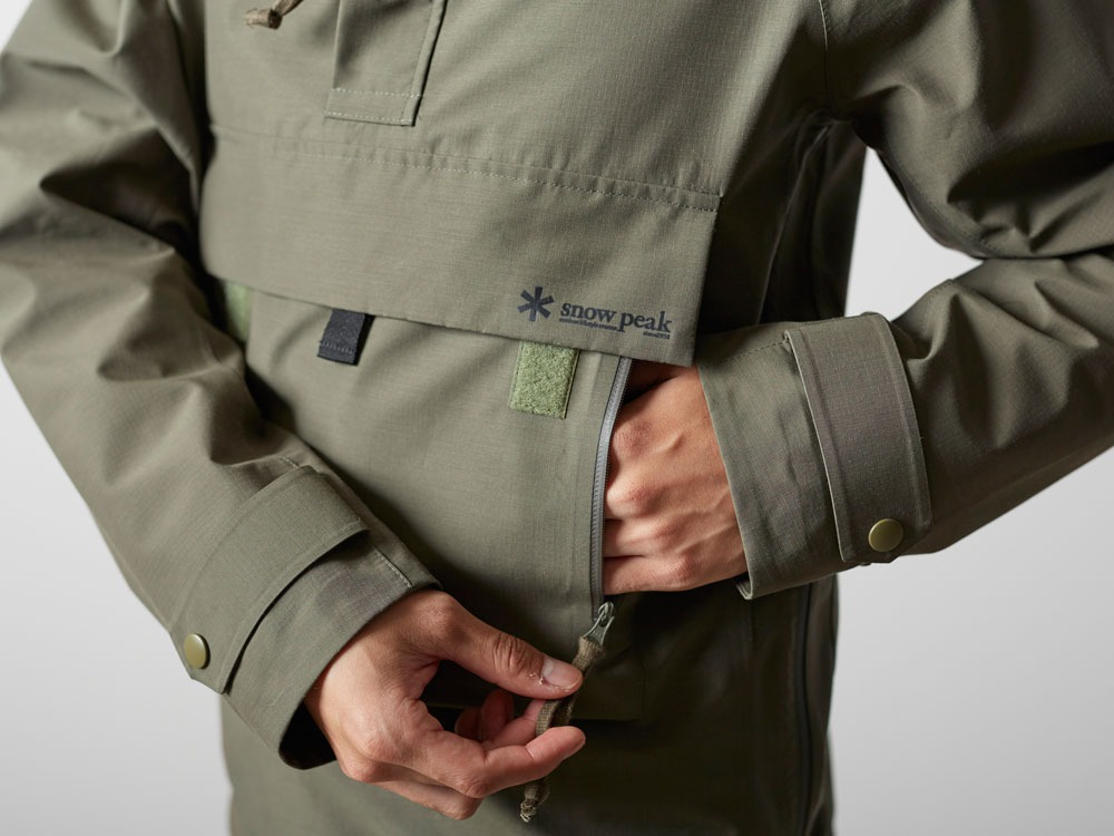 FR Rain Pullover M Olive9