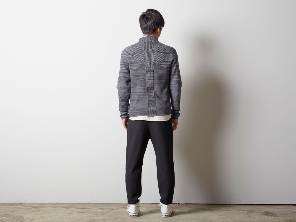 WG Stretch Knit Pullover #2 1 Grey3