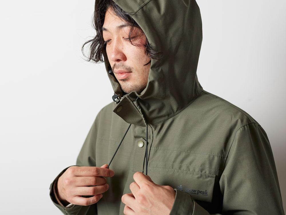 FR Rain Jacket M Olive10