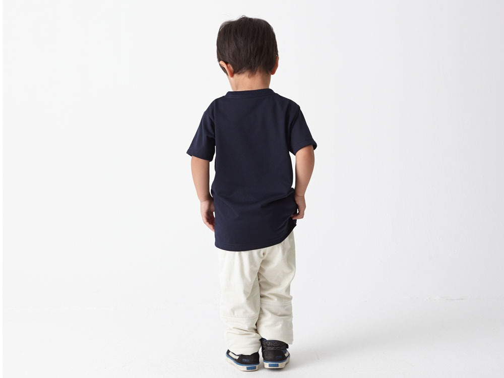 Kid's Printed Tshirt:Greenleaf 1 Navy2