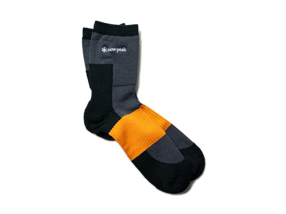 Washi Hybrid Socks M Black