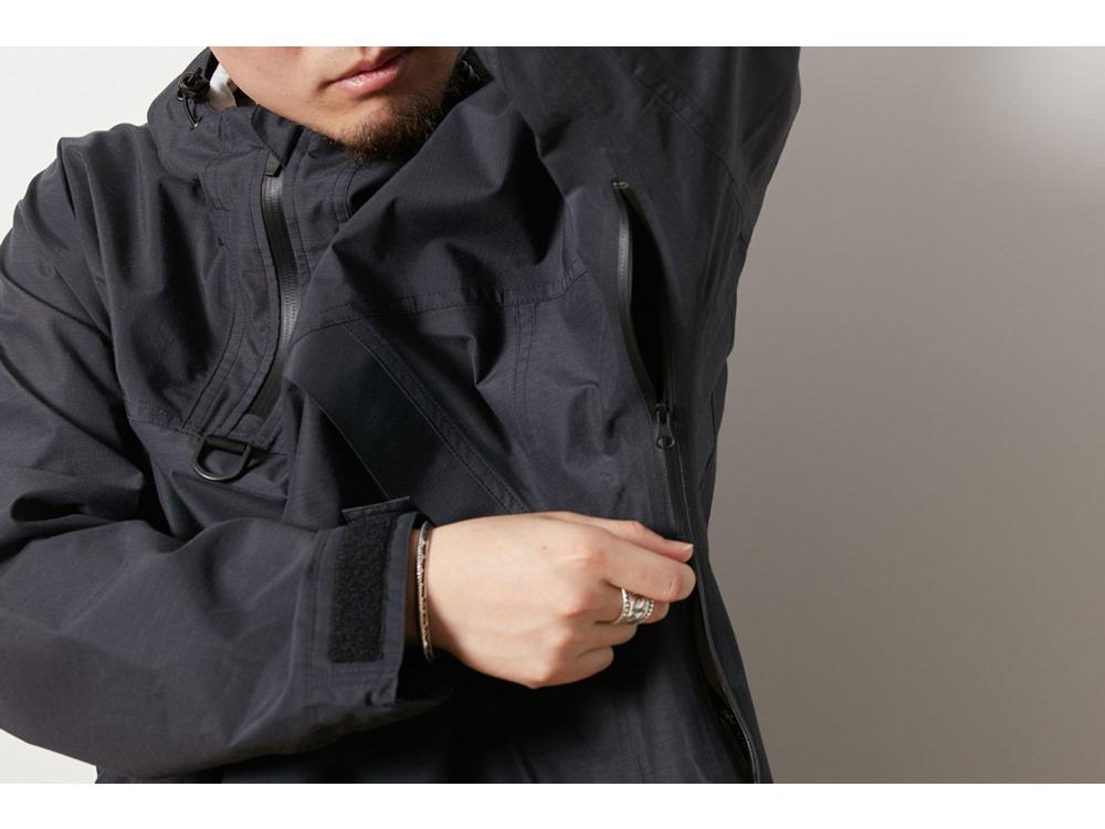 FR 3L Rain Pullover S Black